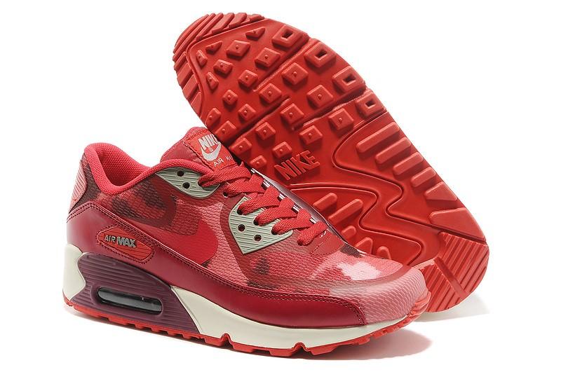 air max 90 premium femme rouge,Nike Air Max 90 Femme Blanche-Nike ...