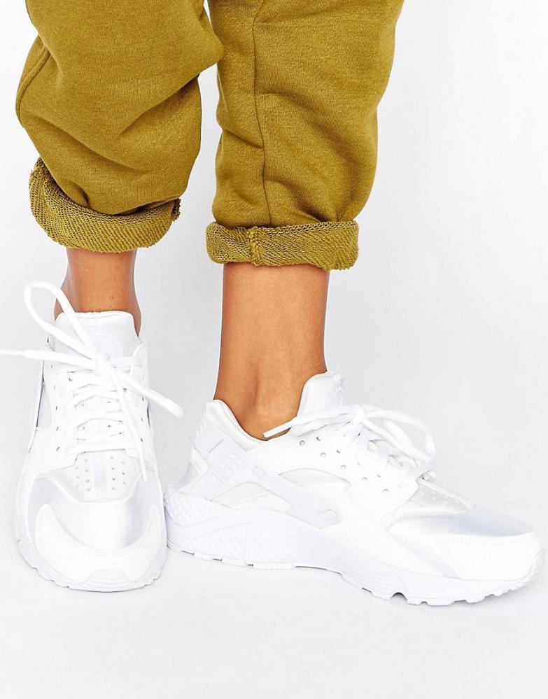 nike ai huarache blanche femme,Nike Air Huarache Run femme blanc -  Chaussures Baskets femme