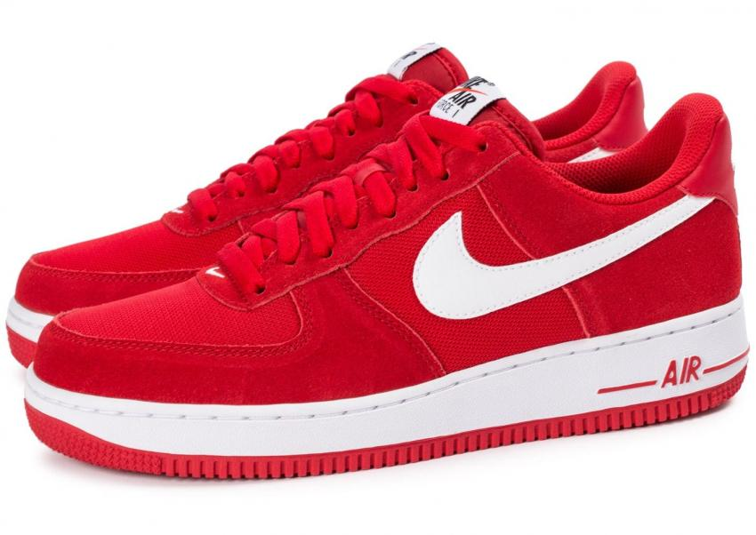 basket femme nike air force 1 rouge