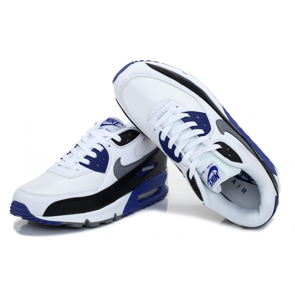 air max 90 essential bleue et blanche