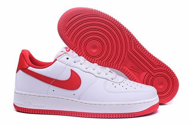 nike force 1 basse blanche et rouge femme,Nike Air Force 1 Low ...